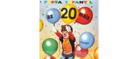 AS 20 MAIS DA FESTA INFANTIL - Grandes Pequenos Cantores - CD 106
